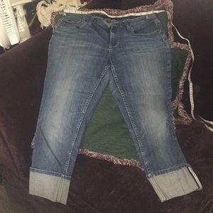 Banana republic capris jeans